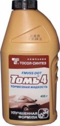 """Тормозная жидкость """"Томь-4"""" фл.п/э 455г"""