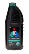 Антифриз  X-Freeze GREEN (зеленый) 1кг.(г.Дзержинск)