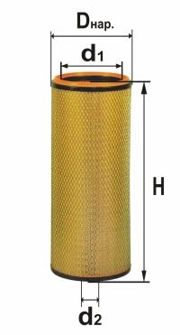 Фильтр В4307М В4307-01М