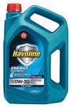 Синтетическое моторное масло Havoline Energy 0w30 4л