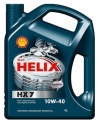 Масло моторное Shell Helix HX7 10w40 (4л.)