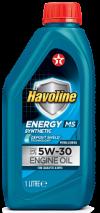 Синтетическое моторное масло Havoline Energy MS 5w30 1л